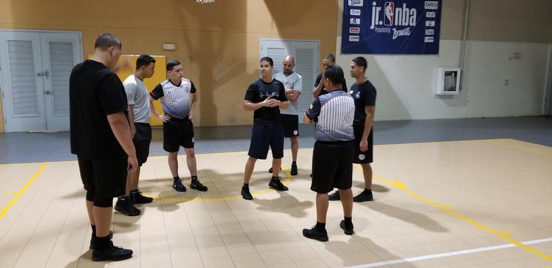 Preparando nuestros árbitros